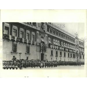 1932 Press Photo Mexican Independence Celebration