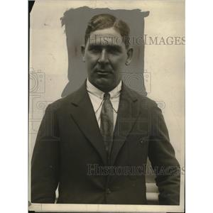 1923 Press Photo Australian Golf Champion Joe Kirkwood Arrived In Europe