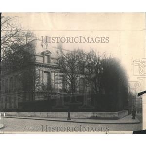 1919 Press Photo Bischoffsheim Hotel