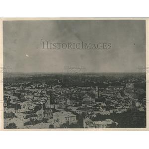 1920 Press Photo The City Of Lemberg