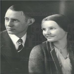 1932 Press Photo W.C. Johnstone Professor Washington