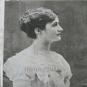 1914 Press Photo Bertha Krupp German Industrial Dynasty