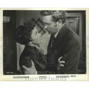 "1963 Press Photo Actors Kathryn Grayson, Howard Keel in ""Show Boat"" Movie"