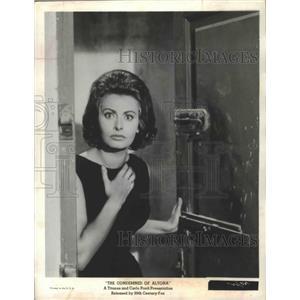 "1963 Press Photo Actress Sophia Loren in ""The Condemned of Altona"" Movie"