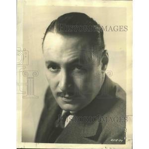1958 Press Photo Actor Rod la Rocque - ftx02638