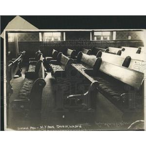 1913 Press Photo President Lincoln's Pew - RRY50151