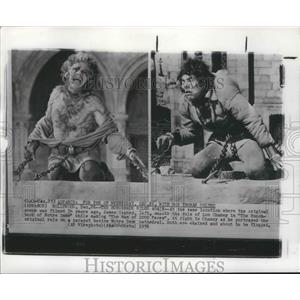 1956 Press Photo Actor James Cagney in The Man of 1000 Faces - ney26489