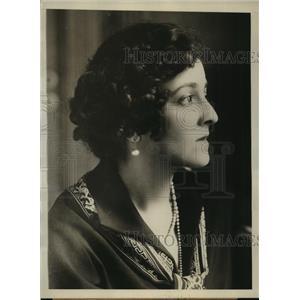 1929 Press Photo Elsie Janis actress sick in Paris with influenza - sbx01165