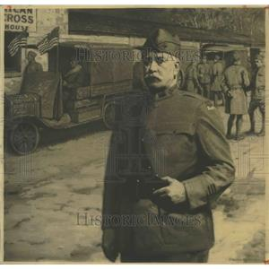 1934 Press Photo Carter H Harrison with French Red Cross - ftx01785