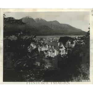 1962 Press Photo Juneau, Alaska Governor's Mansion - ftx01869