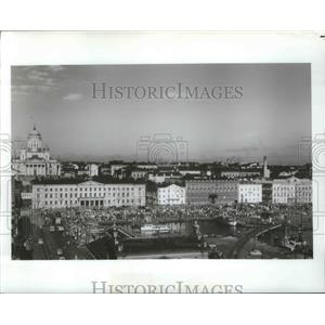 1978 Press Photo Market Squarem South harbor, Helsinki, Finland - ftx02103