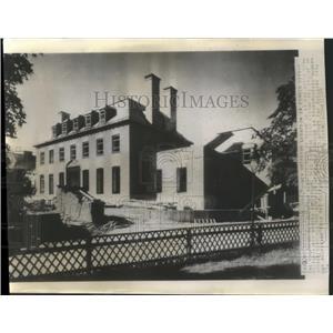 1939 Press Photo Helsinki, Finland New American Legation Bombed - ftx02105