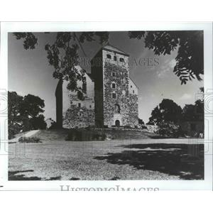 1987 Press Photo Turku Castle, Finland - ftx02108