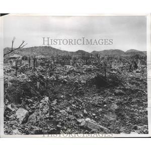 1955 Press Photo Yona Baru, Okinawa, World War II Japan - ftx02199