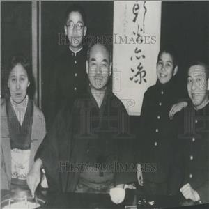 1936 Press Photo Raisaburo Hayashi Minister Japan