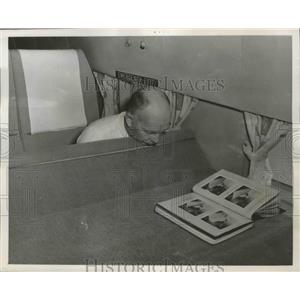 1960 Press Photo Howard Hasbrook National Known Flight Safety Personnel