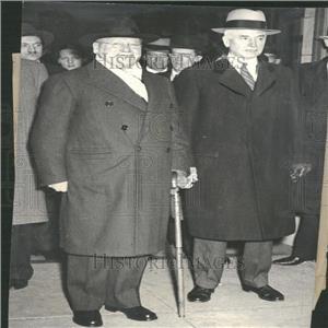1933 Press Photo Maxim Litvinov Soviet Union Diplomat