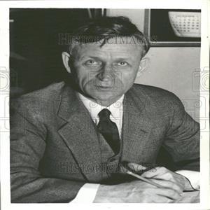 1938 Press Photo Rep Clare Hoffman Michigan Labor Board