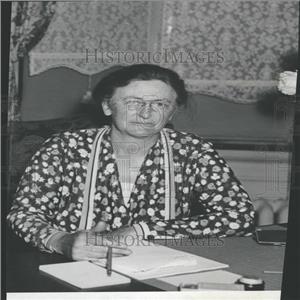 1932 Press Photo Mary W. Dewson American Activist