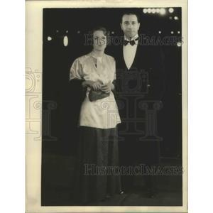 1935 Press Photo Ricardo Cortez & Christine Lee to wed on Christmas Day