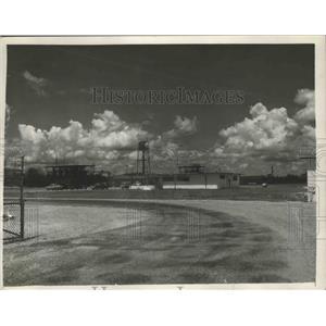 1954 Press Photo Geigy Chemical Corporation in McIntosh, Alabama - abnz00057