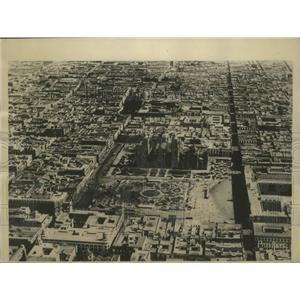 1927 Press Photo Aerial view of Mexico City - sbz01341