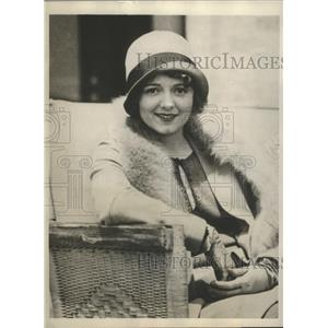 1929 Press Photo Actress Janet Gaynor in San Francisco CA to wed L Peck