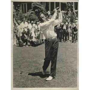 1936 Press Photo Zell Eaton gets Hole-In-One at National Open - nes53569