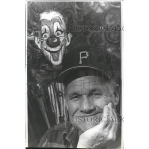 1991 Press Photo Baseball star, Rocky Bridges - sps01374