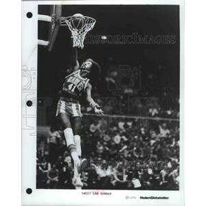 1978 Press Photo Sweet Lou Dunbar of the Harlem Globetrotters basketball team