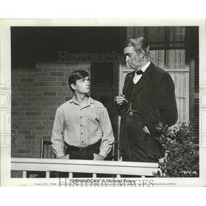 "1954 Press Photo Scene in Universal's Civil War Adventure ""Shenandoah"""