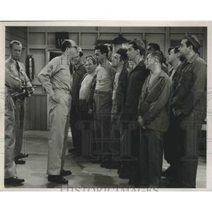 """1956 Press Photo Phil Silvers Stars in """"Sgt Bilko"""" - lfx05699"""