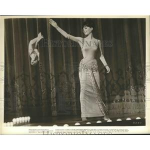"1962 Press Photo Scene from ""The Gypsy"" Starring Natalie Wood - lfx05708"