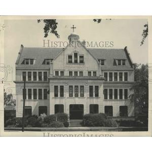 1948 Press Photo Convent of Mercy in Mobile, Alabama - abnz00351