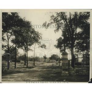 1935 Press Photo Green Springs Park in Birmingham, Alabama - abnz00492