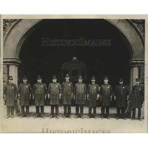 1937 Press Photo First Traffic Policemen of the Birmingham Police Department