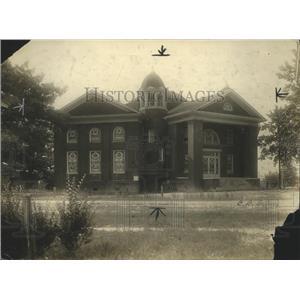 1937 Press Photo First Methodist Church South in Boaz, Alabama - abnz00619