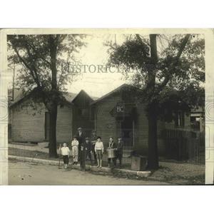 1937 Press Photo Birmingham Boys Club Building in Birmingham, Alabama