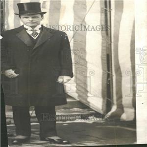 1918 Press Photo Breckinridge Long