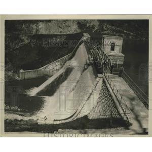 1934 Press Photo Water Works in Birmingham, Alabama - abnz00608