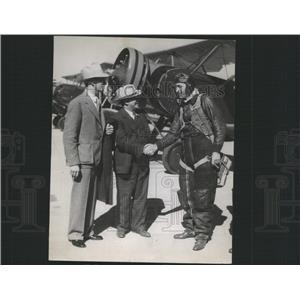 1935 Press Photo Major Virgil Stone National Guard