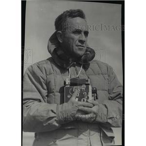 1949 Press Photo Father Bernard R. Hubbard, Explorer, Geologist - spa15090