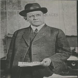 1916 Press Photo William S. Carter Locomotive Firemen