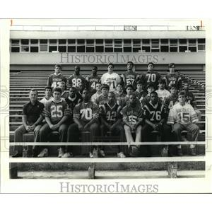 1988 Press Photo Football- All Metro AA Team - noa12314