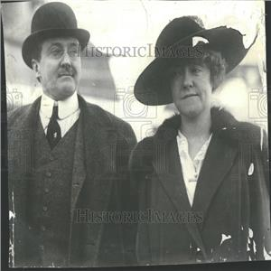 1917 Press Photo James Gerard Ambassador wife Berlin