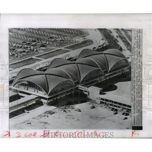 1956 Press Photo Lambert airport, in St. Louis, Missouri - mja55173