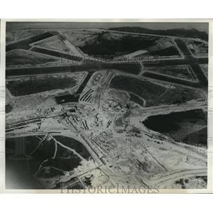1940 Press Photo Washington National Airport, Aerial View - mja55802