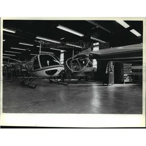 1981 Press Photo Enstrom Helicopter Corporation Helicopters - mja59541