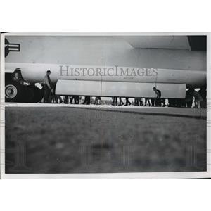 1965 Press Photo Bomb bay of a B-52 - mja61926