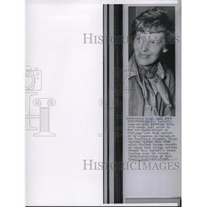 1960 Wire Photo Long missing American aviatrix Amelia Earhart before her flight